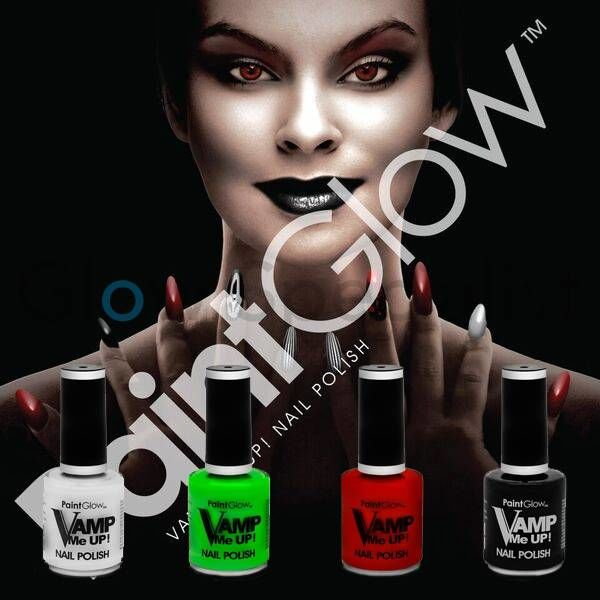PAINT GLOW VAMP ME UP NAIL POLISH