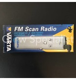 Varta DIGITAL FM RADIO SCAN - WITH LIGHT AND HEADPHONE (earbuds)