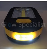 MULTIFUNCTIONELE COB ZAKLAMP MET 3 LED'S