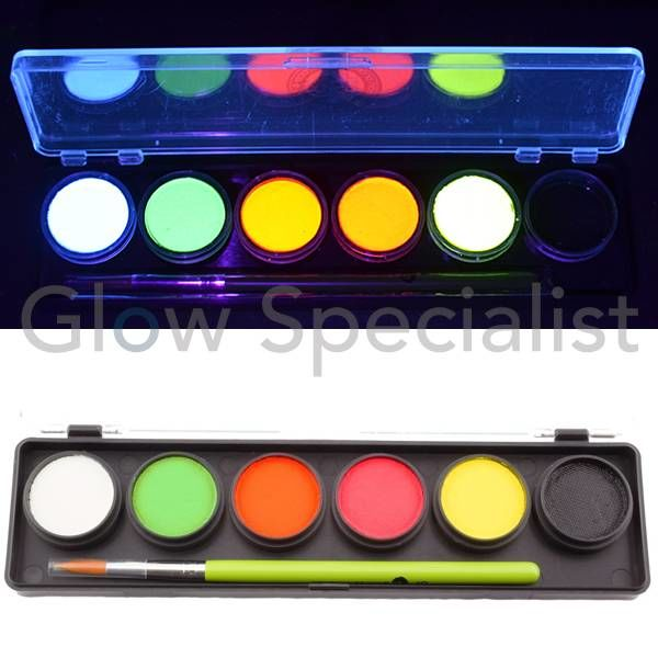 CAMELEON UV ADULT PARTY BOX PALETTE - 6 COLORS