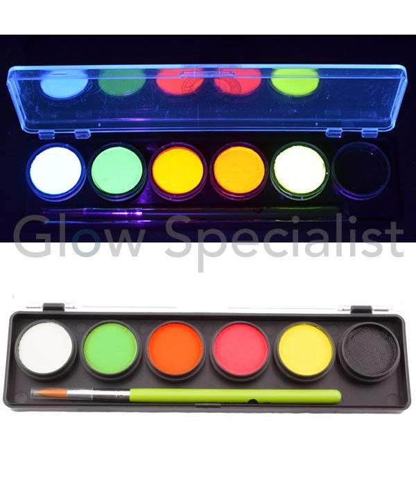 - Cameleon CAMELEON UV ADULT PARTY BOX PALETTE - 6 COLORS