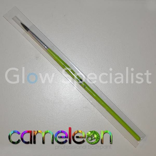 CAMELEON BRUSH - ROUND POINT - NR 4 - GREEN