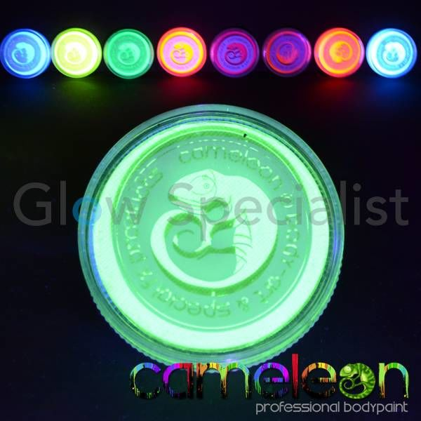 CAMELEON UV SPECIAL EFFECTS PAINT - KRYPTONITE GREEN