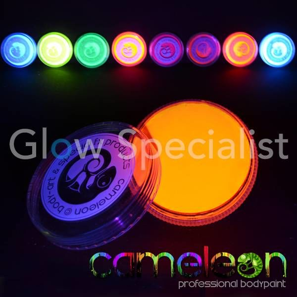 CAMELEON UV SPECIAL EFFECTS PAINT - FOXY ORANGE
