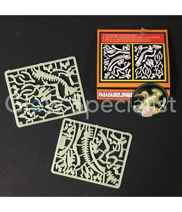 GLOW IN THE DARK 3D DINO PUZZLE - 6 ASSORTI