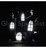 HALLOWEEN DECORATIONS LED - HAUNTED CASTLE 34CM