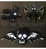 HALLOWEEN DECORATIONS LED HANG - CHOICE OF 3 FIGURES