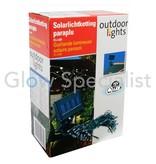 SOLAR STRING LIGHT UMBRELLA - 72 LED LIGHTS