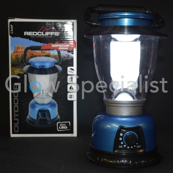 LED CAMPING LANTERN DIMMABLE, 6 LEDS