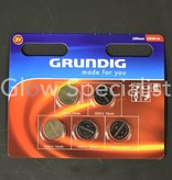 Grundig CELL BATTERIES - CR2016 - 5 PIECES - GRUNDIG