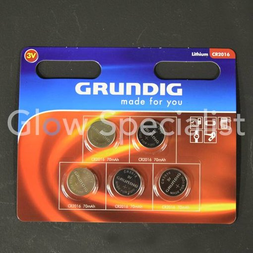 Grundig CELL BATTERIES - CR2016 - 5 PIECES - GRUNDIG