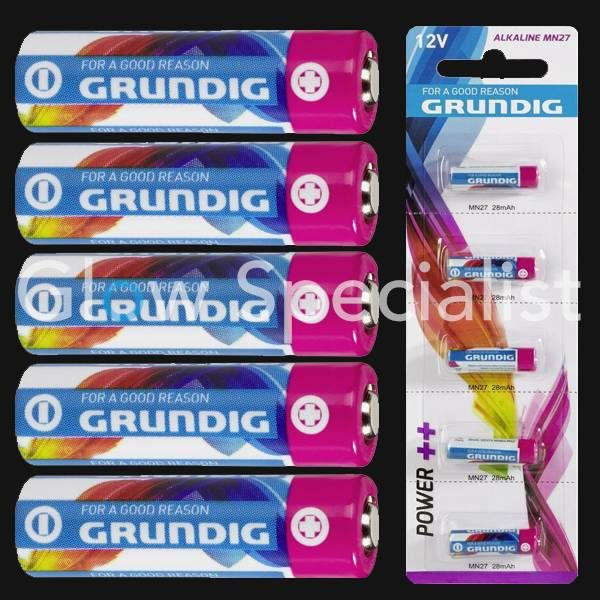 GRUNDIG BATTERY MN27 / 12V MT - 5 PIECES