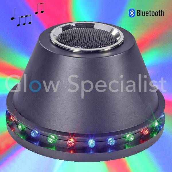 LED DISCO LIGHT AND BLUETOOTH SPEAKER - 24 LED - 5W