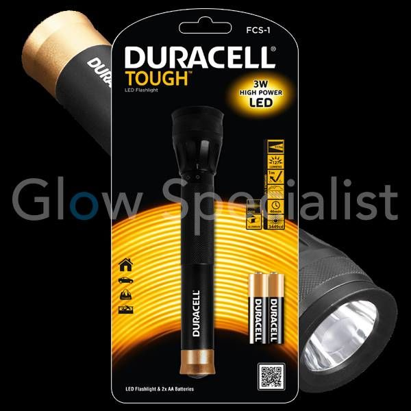 DURACELL LED FLASHLIGHT TOUGH 3W FCS-1