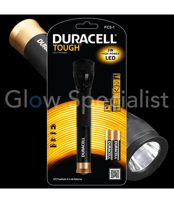 Duracell DURACELL LED FLASHLIGHT TOUGH 3W FCS-1