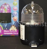 Party Fun Light ROTEREND DISCO LAMPJE MET USB AANSLUITING