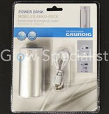 Grundig GRUNDIG POWER BANK 4000 mAh - POWER AND EMERGENCY CHARGER WITH FLASHLIGHT