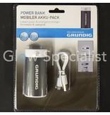 Grundig GRUNDIG POWER BANK 4000 mAh - POWER AND EMERGENCY CHARGER WITH FLASHLIGHT