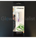 Polaroid FLASHING LED CHARGE & SYNC CABLE MICRO USB - SUITABLE FOR ANDROID PHONES/TABLETS
