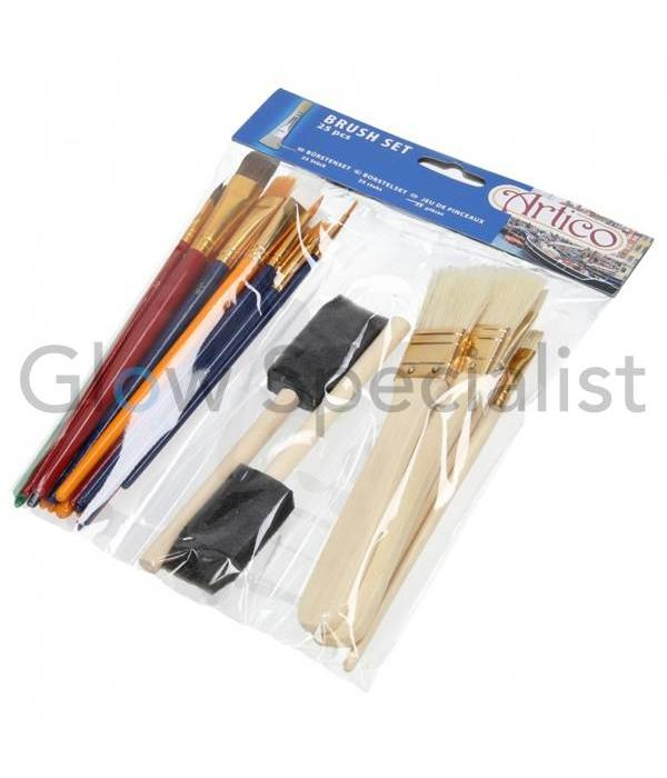 BRUSH SET 25 PCS
