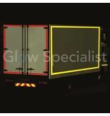 REFLECTEREND TAPE - GEEL - 50MM x 25M