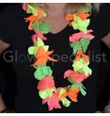 UV/BLACKLIGHT HAWAIIAN NECKLACE MULTICOLOR