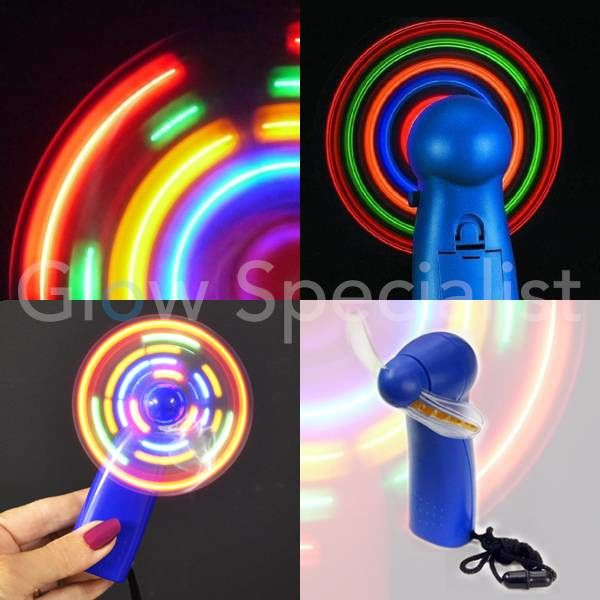 LED MINI FAN MULTI COLOR