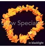 UV/BLACKLIGHT HAWAII KRANS - ORANJE
