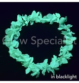 UV/BLACKLIGHT HAWAIIAN NECKLACE - GREEN