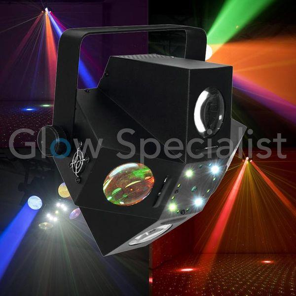 Eurolite LED PUS-6 Hybrid Laser Beam