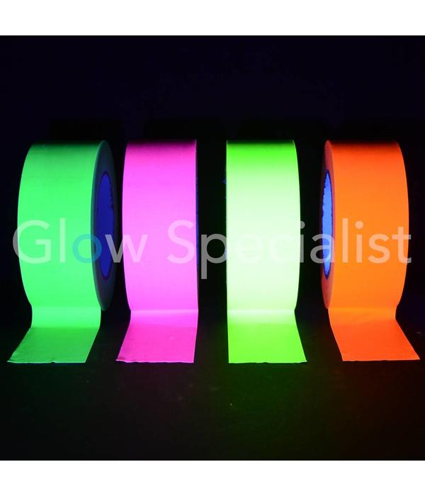 UV / BLACKLIGHT NEON TAPE - 50 MM x 25 M