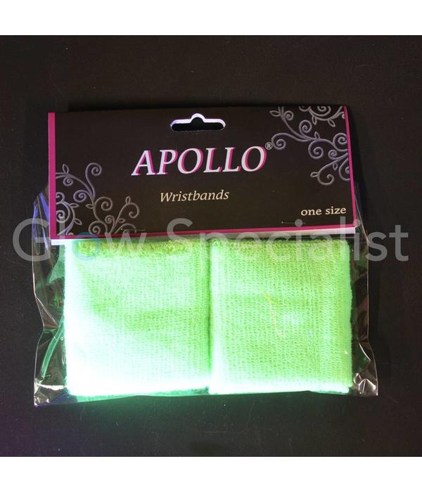UV NEON WRIST BANDS - SET OF 2 PCS - 4 COLORS