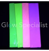 UV NEON CREPE PAPER - 4 ASSORTED