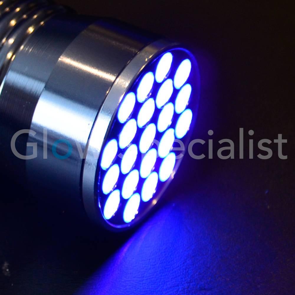 UV ZAKLAMP 21 LED 395 400nM