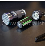 UV ZAKLAMP 21 LED 395-400nM