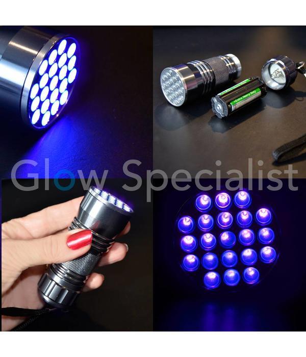 UV LED FLASHLIGHT 21 395-400nM
