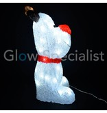 LED RENDIER ACRYL - 60 LED - 44 CM