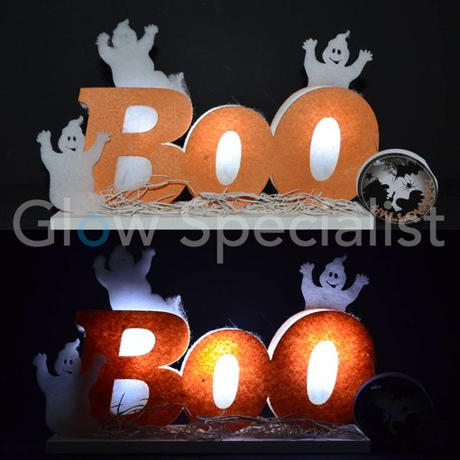"HALLOWEEN LED DECORATION ""BOO"""