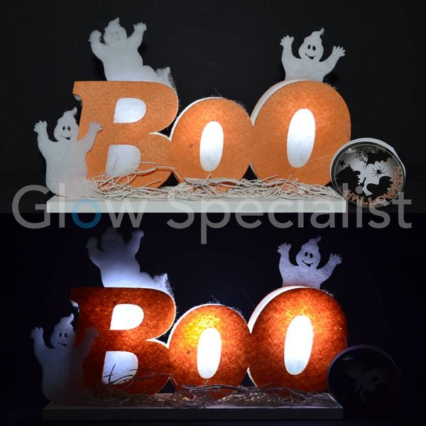 "HALLOWEEN LED DECORATIE ""BOO"""