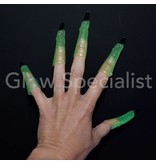 GLOW IN THE DARK WITCH FINGERS - SET OF 10 PIECES