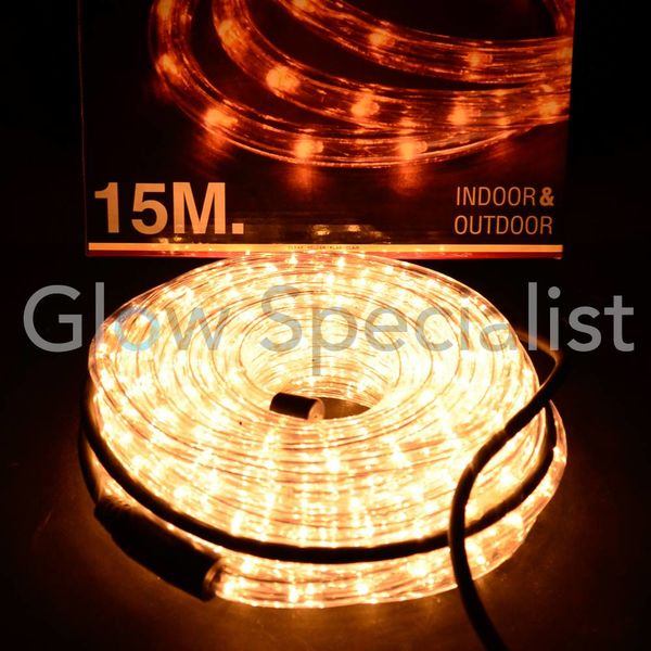 ROPE LIGHT 15 METER - LED BRIGHT WHITE