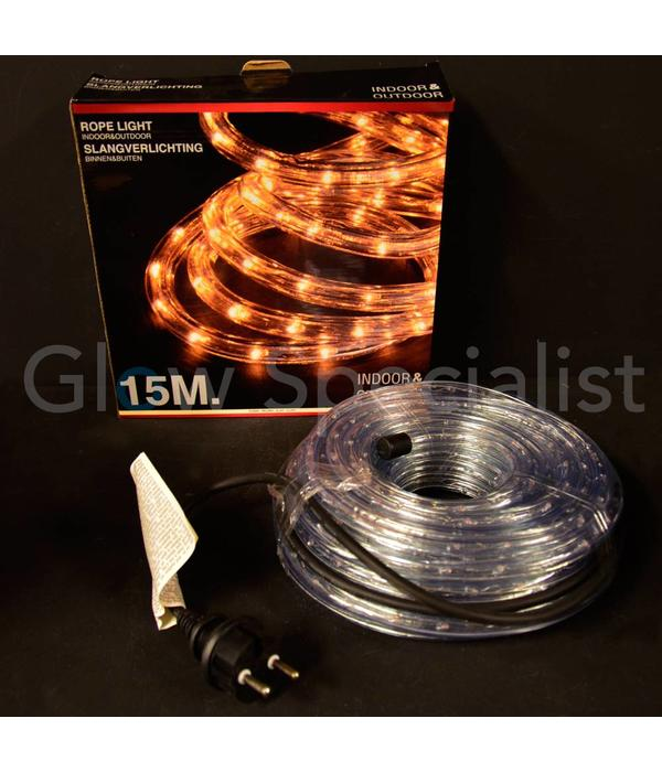 ROPE LIGHT 15 METER - CLEAR WHITE