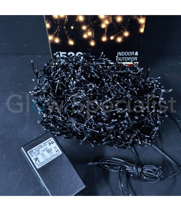 LED CLUSTER LIGHTING - 1536 LIGHTS - WARM WHITE