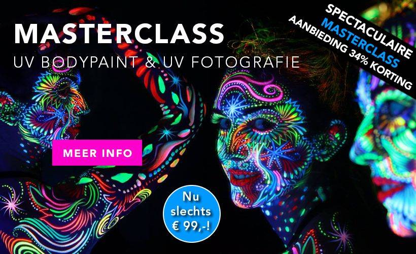 Masterclass UV Bodypaint & Fotografie