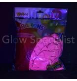 UV NEON BALLOONS - PURPLE - 100 PIECES