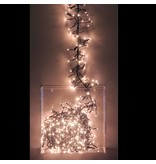 LED CLUSTER LIGHTING - 1512 LIGHTS - WARM WHITE - WITH 8 LIGHT FUNCTIONS