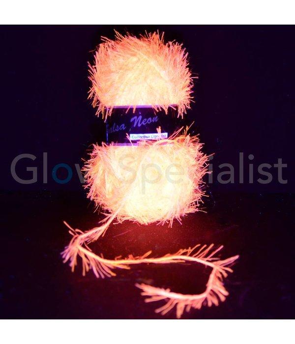 UV NEON FANTASY YARN - SALSA NEON - PINK