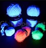UV NEON FANTASY YARN - ELISE - WHITE