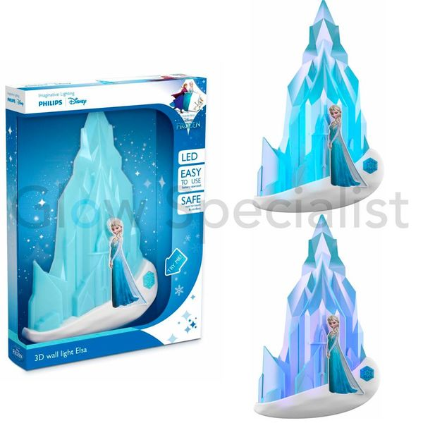 PHILIPS 3D LED WALL LIGHT FROZEN ELSA - DISNEY