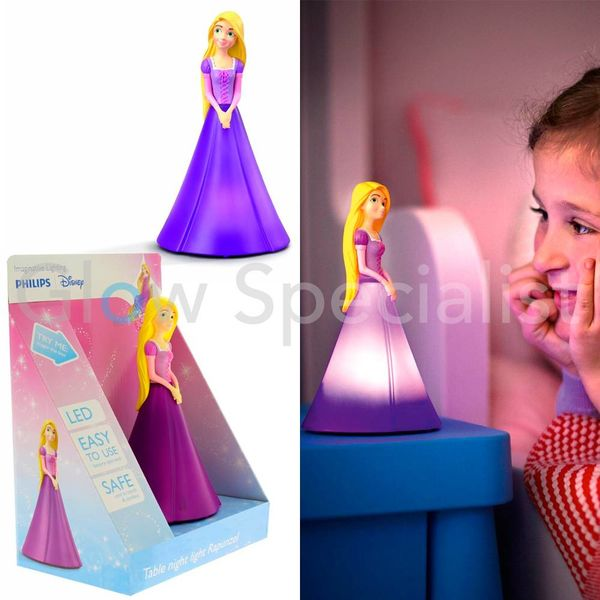 PHILIPS LED TAFEL NACHTLAMP - DISNEY RAPUNZEL
